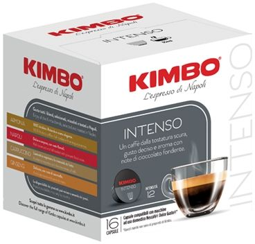 Kimbo Intenso 16 Capsule Dolce Gusto Compatibili 112g