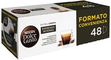 Nestle Nescafé Dolce Gusto Espresso Intenso 48 Capsule 336g