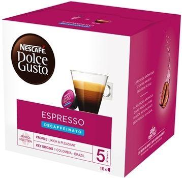 Nestle Nescafé Dolce Gusto Decaffeinato 16 Capsule 144g