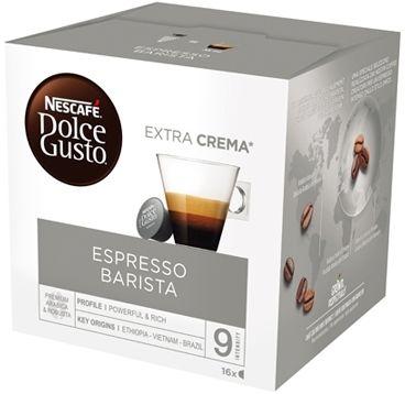 Nestle Nescafé Dolce Gusto Barista Espresso 16 Capsule 120g