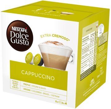 Nestle Nescafé Dolce Gusto Cappuccino 8+8 16 Capsule 300g