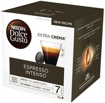 Nestle Nescafé Dolce Gusto Intenso Espresso 16 Capsule 128g
