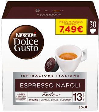 Nestle Nescafé Dolce Gusto Espresso Napoli 30 Capsule 240g