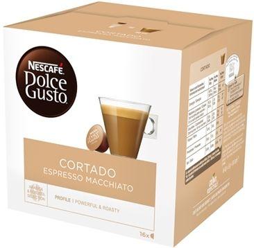 Nestle Nescafé Dolce Gusto Cortado (Espresso Macchiato) 16 Capsule 100g