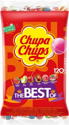 Chupa Chups Best of 120er Nachfüllbeutel 1440g