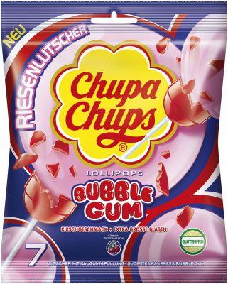 Chupa Chups Maxi Bubble Gum 7er Beutel 126g