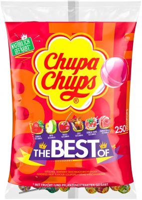 Chupa Chups Best Of Nachfüllbeutel XL 250er 3000g