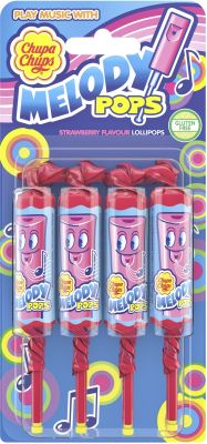 Chupa Chups Melody Pops 4er 60g