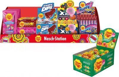 "Chupa Chups Limited Aktionspaket ""Nasch-Station"" 6+1 Frühjahr 2021, Mix, 200pcs"