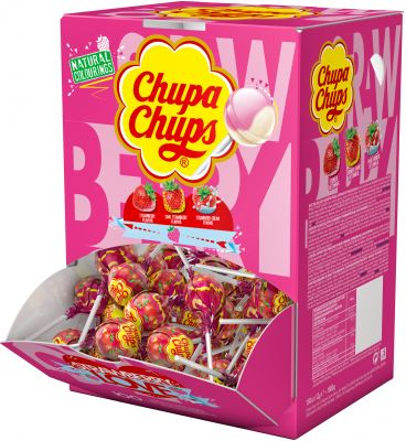 Chupa Chups Lutscher Strawberry Lover 150er 1800g