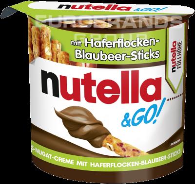 FDE Limited Limited Nutella & Go Haferflocken-Blaubeer-Sticks 54g