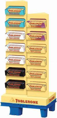 Toblerone 100g, Display, 260pcs
