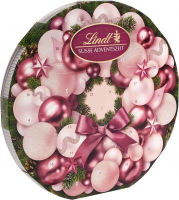 Lindt Christmas - Adventskalender, Adventskranz, 270g