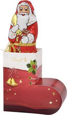 Lindt Christmas - Santa im Nikolausstiefel, 200g