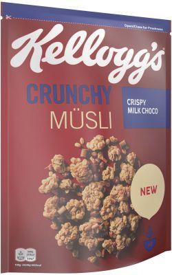 Kelloggs Crunchy Müsli Crispy Milk Choco 400g