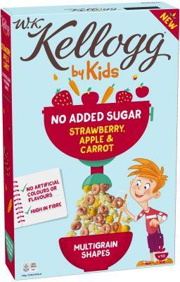 Kelloggs WKK KidsStrawberry, Apple, Carrot 300g