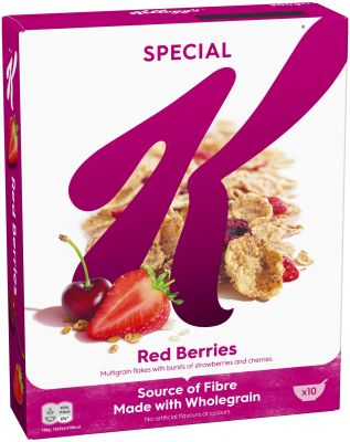 Kelloggs Special K Red Berries 300g, 5pcs