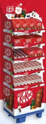 Nestle Christmas Kitkat 5 Varianten, Display, 302pcs
