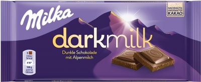 MDLZ DE Milka Dark Milk Dunkle Alpenmilch 85g