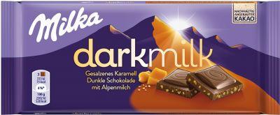 MDLZ DE Milka Dark Milk Gesalzenes Karamell 85g