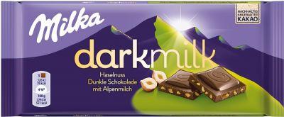 MDLZ DE Milka Dark Milk Haselnuss 85g