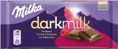 MDLZ DE Milka Dark Milk Himbeer 85g