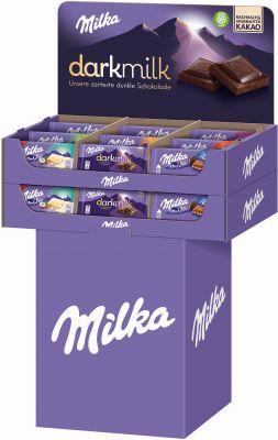 MDLZ DE Milka Tafel 87g-100g, Display, 230pcs