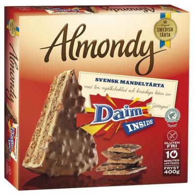 Almondy Daim Schokoladen-Torte 400g