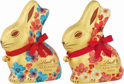Lindt Easter Goldhase Blumen Edition, 200g