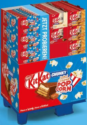 Nestle Kitkat Chunky Multipack 4 sort, Display, 160pcs