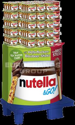 FDE Limited Nutella & Go Sticks 2 sort, Display, 180pcs