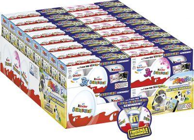 FDE Limited Mischgebinde Kinder Überraschung 3er Classic & Rosa, Mix-Carton, 32pcs