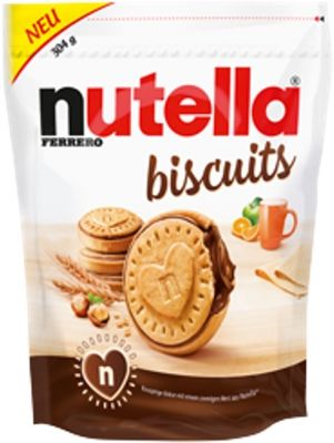 FDE Limited Nutella Biscuits Beutel 304g