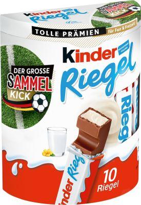 FDE Limited Kinder Riegel 10er 210g