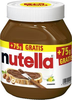 FDE Limited Nutella 750g + 75g Glas