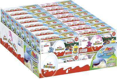 FDE Limited Kinder Überraschung 3er Classic & Rosa, Mix-Carton, 32pcs