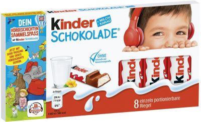 FDE Limited Kinder Schokolade (4x10) 100g Hörgeschichten