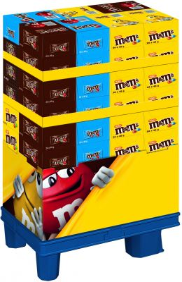 MDE M&M`s Single Sortiment, Display, 936pcs