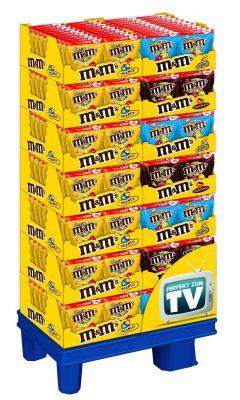 MDE M&M`s Peanut/Choco/Crispy, Display, 280pcs