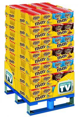 MDE M&M`s Peanut/Choco/Crispy, Display, 560pcs