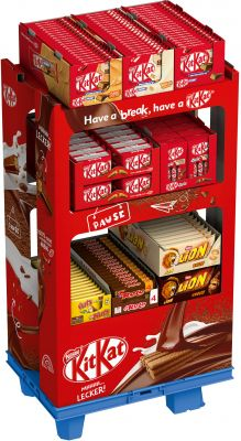 Nestle KitKat Lion Nuts Rolo, Display, 174pcs