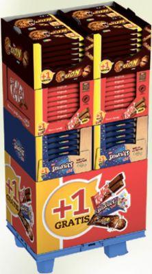 Nestle Limited KitKat Lion Smarties Mini, Display, 100pcs Promotion +1
