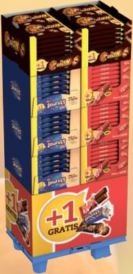Nestle Limited KitKat Lion Smarties Mini, Display, 134pcs Promotion +1