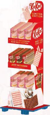 Nestle Limited Kitkat Tablet 4 sort, Display, 144pcs