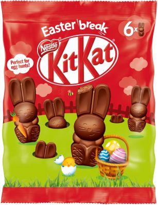 Nestle Easter -  Kitkat Mini-Osterhasen Beutel 66g