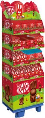 Nestle Easter -  Kitkat 5 sort, Display, 262pcs