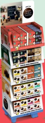 Nestle Nescafé Dolce Gusto 16 sort, Display, 120pcs
