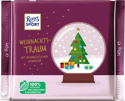 Ritter Sport Christmas Weihnachtstraum 145g