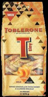 ITR Toblerone Tiny Gingery Orange Mix Bag 272g