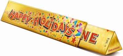 ITR Toblerone Happy Holidays Milk Bar 360g